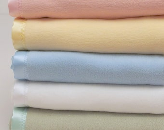 Green Baby Blanket Baby Cotton Fleece Blanket Mint Boys Girls Blanket Cotton Baby Blanket Baby Shower Gift Stroller Crib Toddler Blanket