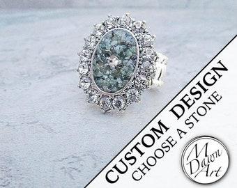 Stone Inlay Rings