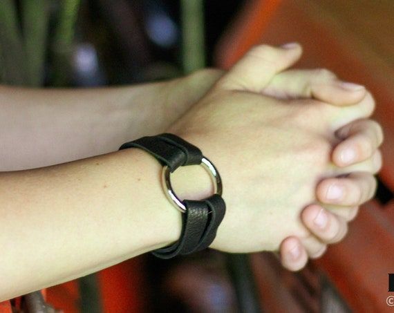 Petite Essential Leather and Silver Bracelet - Brown, Tan and Black