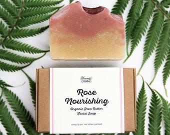 Organic Shea Butter Facial Soap