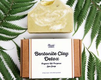 Organic Bentonite Clay Facial Soap