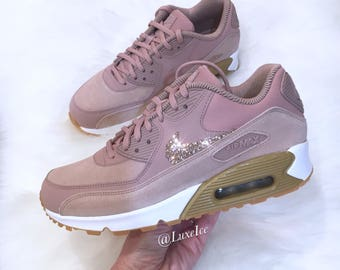 wholesale nike air max 90 premium gold rosa 6cc79 85582