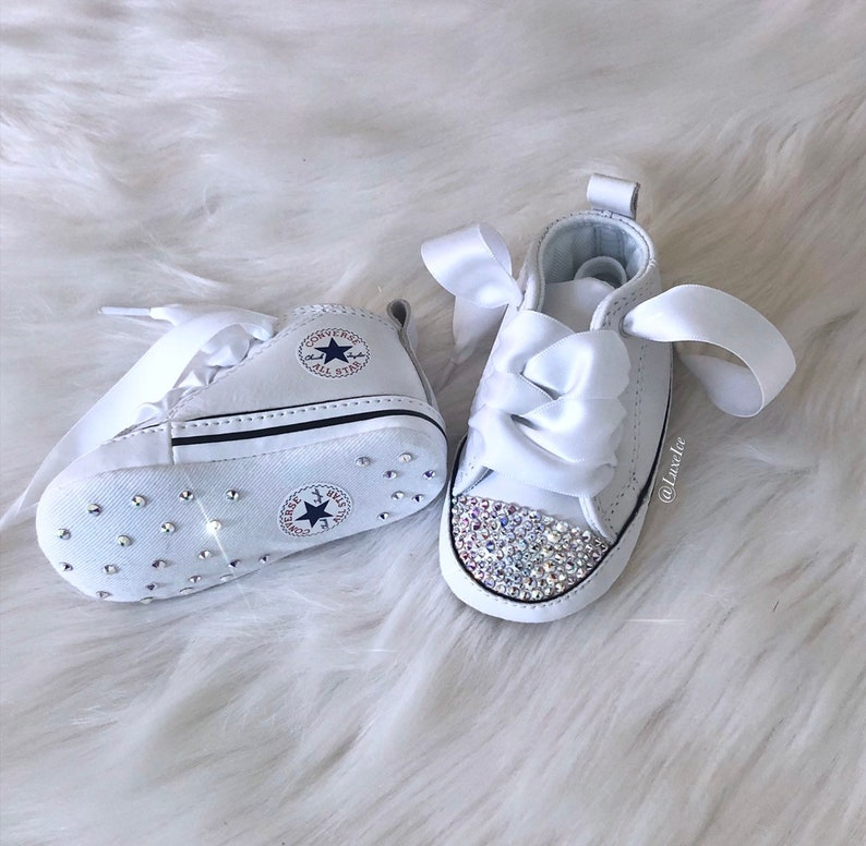 Swarovski Baby Krippe Converse Chuck Taylor First Star