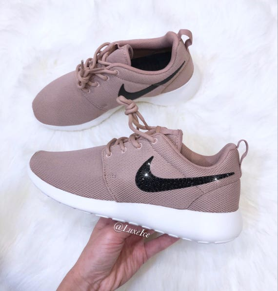buy online a82d2 15cae Nike Roshe One Particle PinkSailBlack with Jet Black  Etsy