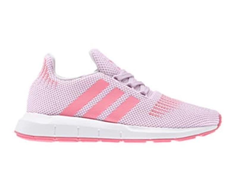 390f41b848f1c Adidas Swift Run Pink customized with SWAROVSKI® Xirius