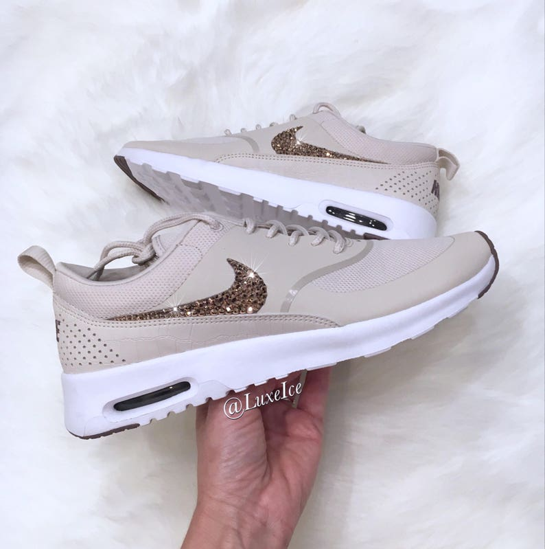 best cheap 1345f 030ba Women Nike Air Max Thea Light Orewood Brown Taupe Grey   Etsy