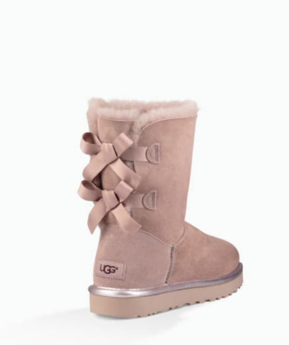 8eaf43d354d Ugg Boots Bailey Bow II - customized with SWAROVSKI® Xirius Rose-Cut  Crystals.