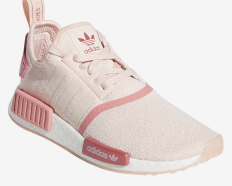 the best attitude 2e462 5ab58 Swarovski Adidas NMD Women's Runner Casual Shoes Icey Pink/Tactile Rose  customized with Swarovski Crystals.