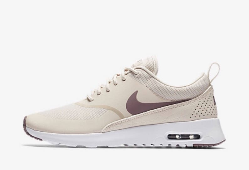 Women Nike Air Max Thea Blinged with Rose Gold SWAROVSKI® Xirius Rose Cut Crystals. Size 6.5 Ready to Ship!