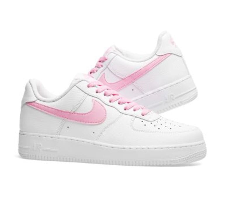 online store 5b841 2f11f Swarovski Nike Air Force 1 Psychic Pink customized with   Etsy
