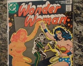 Wonder Woman Issue 243 DC Comics 1978