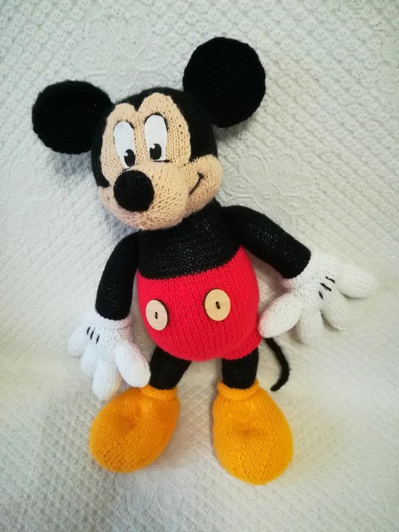 Cadeau À Mouse Mickey Tricot Bébé LaEtsy Jouet Jouets eWYIH9DE2
