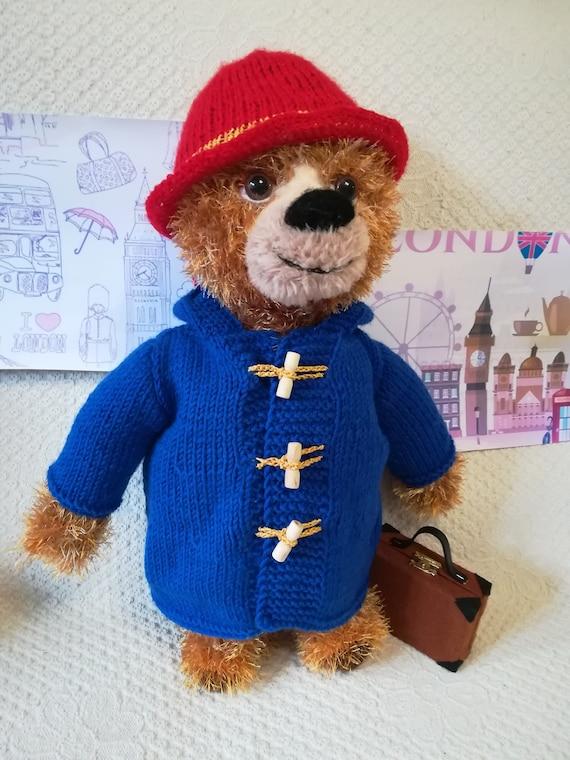 Zu Spielzeug Teddy Einen Handgemachte Vintage Bär In Kind Mantel Geburtstag Mit Teddybär Einem Geschenk Vorhanden Weihnachtsgeschenk Hut eHYWD29IE