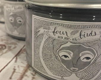 Activated Charcoal Face Mask { all natural - acne prone skin - activated charcoal mask - detox mask - tea tree mask }