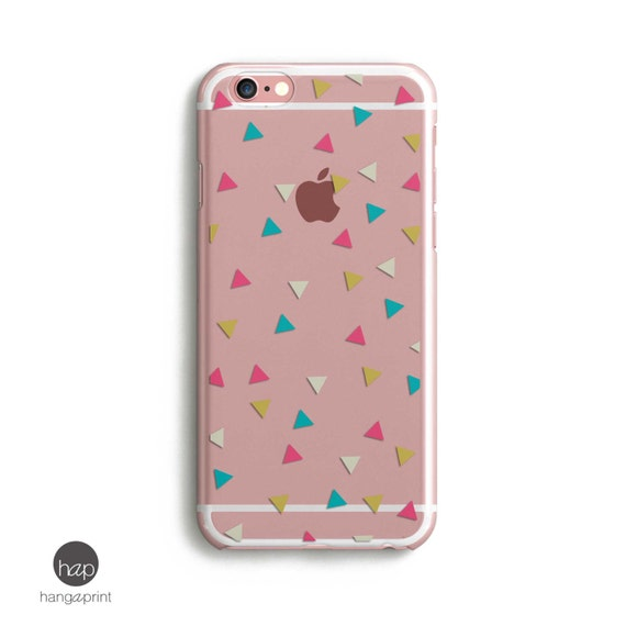 Triangle Iphone Case Iphone 6 Case Clear With Design Iphone Etsy