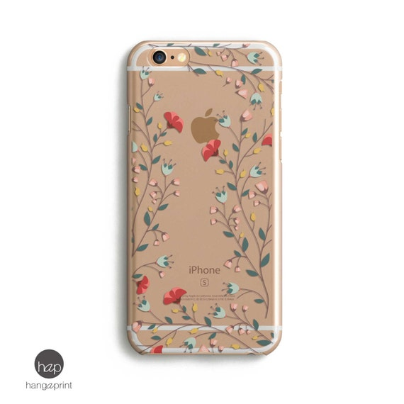Flower Iphone 6 Case Flower Iphone Case Flower Phone Case Etsy