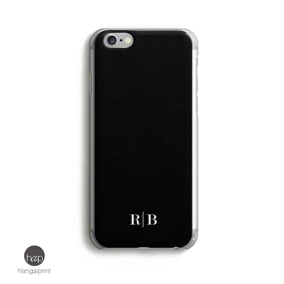 b87ca726991 Men Monogram iPhone 6 plus case Custom Initials iPhone 5