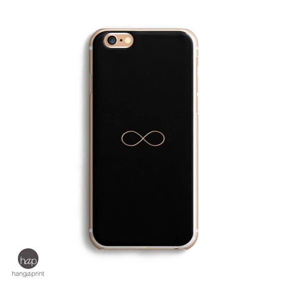 6s Iphone Case Black Iphone 6 Case Infinity Symbol Black Etsy