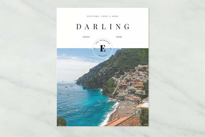 Darling Escape  One Week Itinerary to Rome Positano & Capri image 0