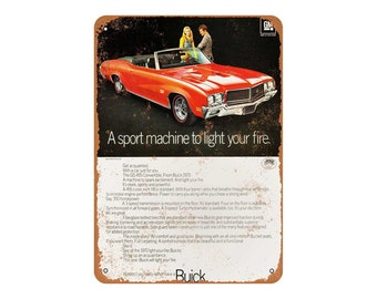 Buick gs   Etsy