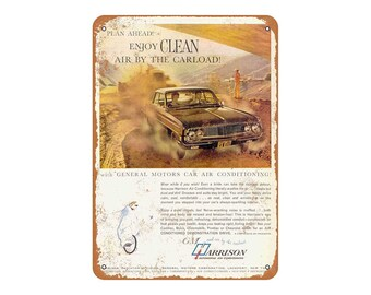 Metal Sign 1956 General Motors Shipload Vintage Look Reproduction