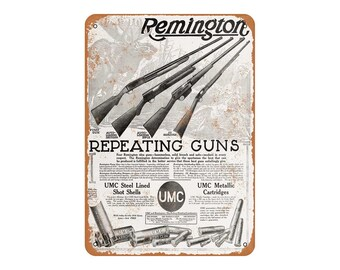 Remington sign | Etsy