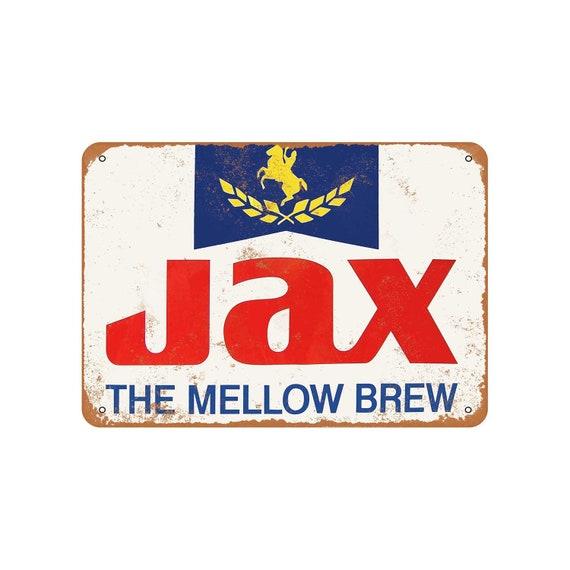 Metal Sign Jax Beer on Tap Vintage Look Reproduction