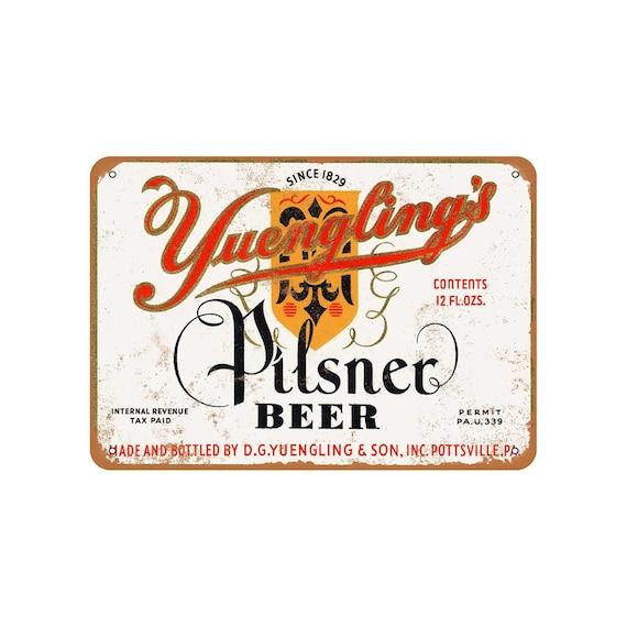 Metal Sign 1934 Yuengling/'s Pilsner Beer Vintage Look Reproduction