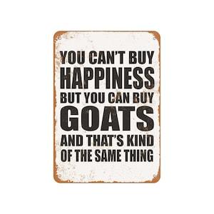 EpochSign Plaque en /étain Inscription You Cant Buy Happiness But You Can Marry A Drummer 20,3 x 30,5 cm