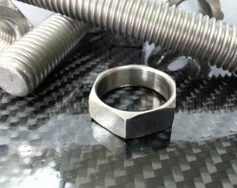 Titanium Hex Nut Ring