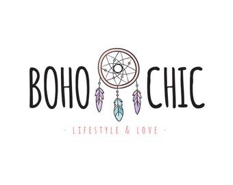 PREMADE LOGO - Boho Chic - Insta Logo