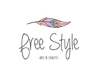 PREMADE LOGO - Free Style - Insta Logo