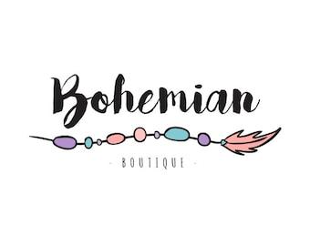 PREMADE LOGO DESIGN - Bohemian - Insta Logo