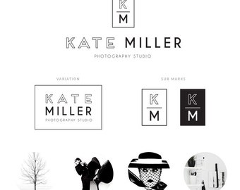 PREMADE LOGO KIT - Kate Miller