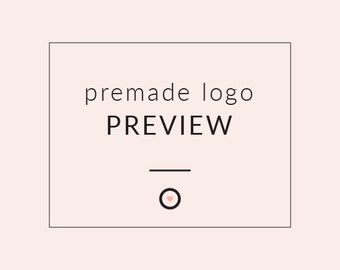 PREVIEW A LOGO - Premade Logo Preview