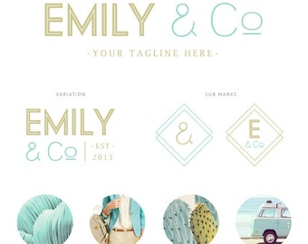 PREMADE LOGO KIT - Emily Co