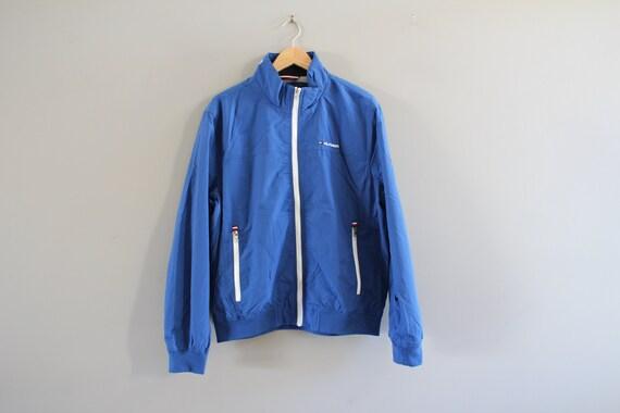Size L Tommy Hilfiger Blue Jacket Tommy Big Logo T