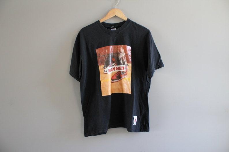 fb24e6a7daa Vintage 80s Michael Jordan Air Jordan 1 Fight Nike T-shirt | Etsy