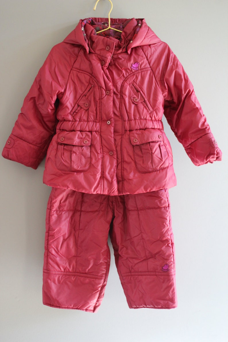 98a149ff4bec Mexx toddler burgundy red snowsuits   overalls   quilted