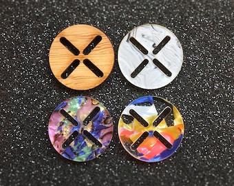 The Sashiko Button (Set of 6)