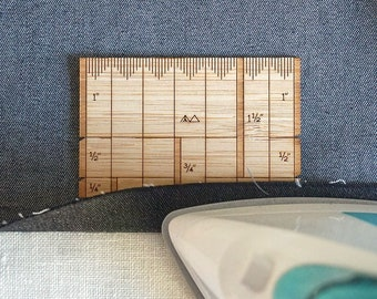 Wooden Sewing Gauge