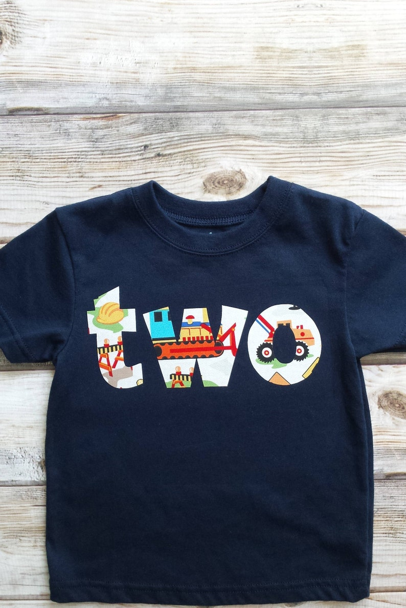 Boy 2 Birthday Shirt 2nd READY TO SHIP