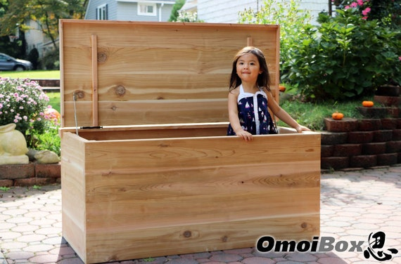 Pleasing Cedar Custom Extra Large Storage Bench Wood Storage Bench Child Safe Bedroom Or Mudroom Wooden Chest Trunk Garage Storage Box Alphanode Cool Chair Designs And Ideas Alphanodeonline