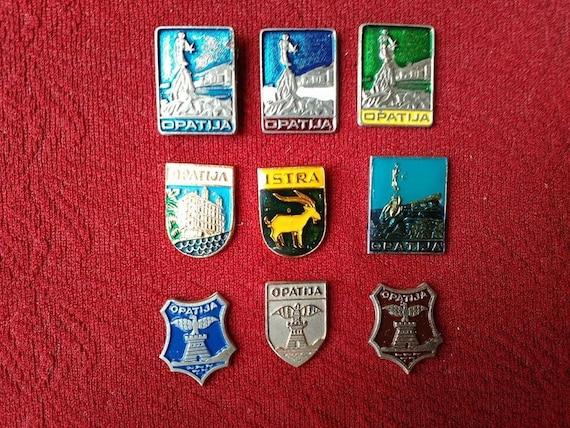 0a00b92177f2 Opatija Hrvatska Croatia Vintage Pins Collection Sale SFRJ