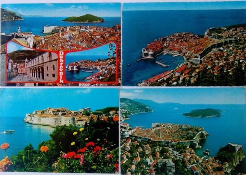 9e7a476d6223 Postcards Vintage Dubrovnik Hrvatska Croatia Postcards
