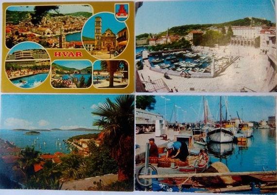 717803491089 Postcards Vintage Hvar Hrvatska Croatia Postcards Collection