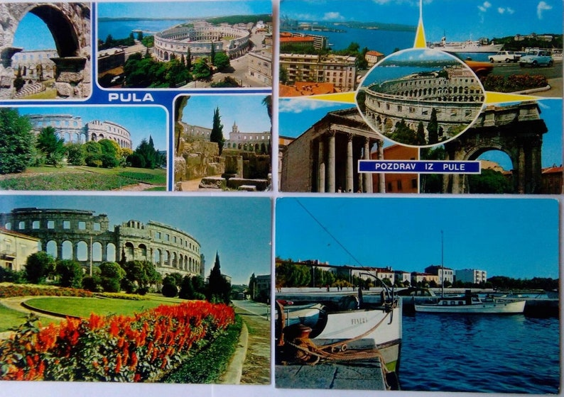 04f10ee2da58 Postcards Vintage Pula Hrvatska Croatia Postcards Collection Travel Croatia  Pula... Postcards Vintage Pula Hrvatska Croatia Postcards Collection Travel  ...