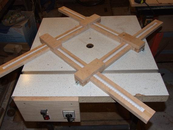 Frame For Making Wooden Saucers Digital Pdf Plan Router Etsy