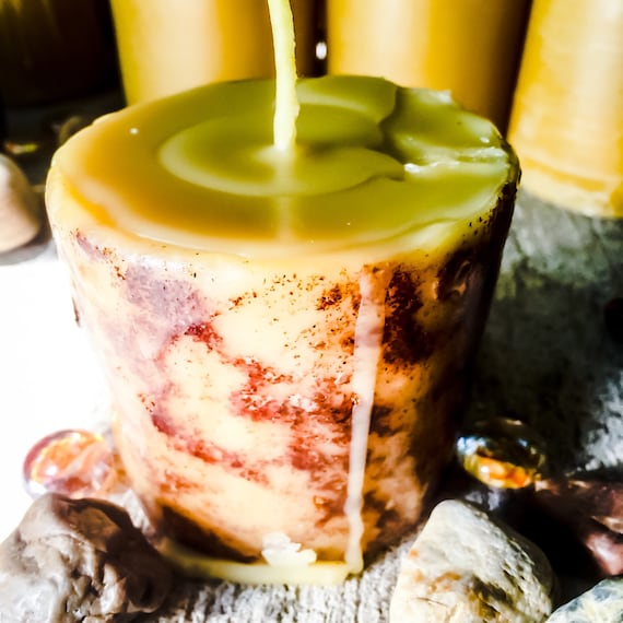 100% Pure Organic Beeswax Spell candle