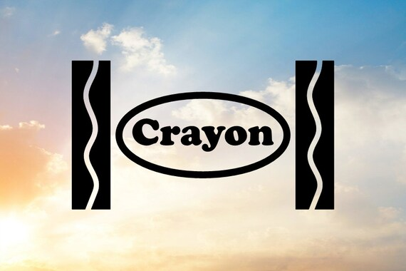Crayon Svg Crayon Wrapper Svg Art Party Svg Art Svg